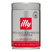 Illy Medium Roast Ground Espresso Coffee, 8.8 Oz