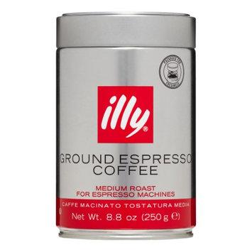 Illy Medium Roast Ground Espresso Coffee, 8.8 Oz