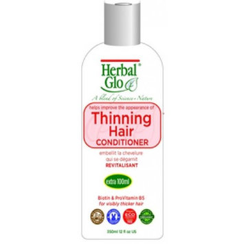 Herbal Glo HG113 12 oz Thinning Hair Conditioner - 12 per Case