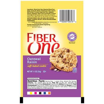 Fiber One(tm) Oatmeal Raisin Soft-Baked Cookie