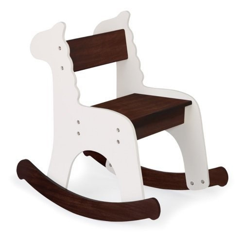 P'kolino Zebra Rocking Chair, Caf con Leche