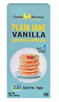 Castle Kitchen Foods Castle Kitchen Pancake & Waffle Mix, Plain Jane Vanilla, 16 Oz