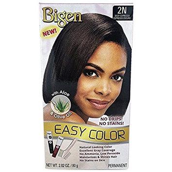 Bigen Easy Color Permanent Hair Dye with Aloe & Olive Oil, Deep Espresso, 2.82 Ounce [1]