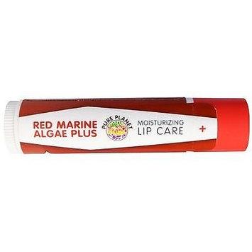 Red Marine Algae Plus Lip Care Vanilla Mint Pure Planet Products 0.15oz Lip Balm