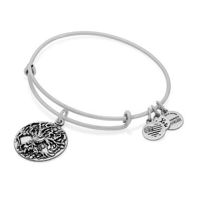 Alex and Ani Tree of Life Iii Expandable Wire Bangle