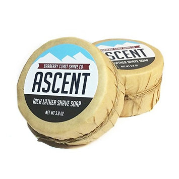 Himalayan Ascent Shave Soap for Men - Rich, Slick & Thick Lather - High-Performance [Himalayan Ascent]