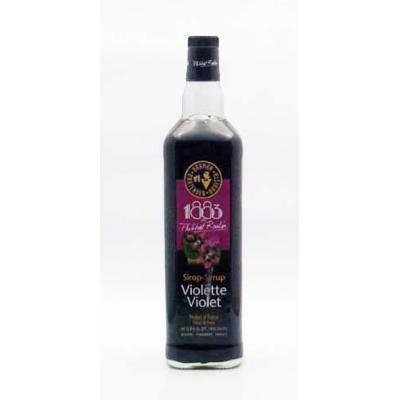 1883 Routin Violet Syrup - 1 Liter