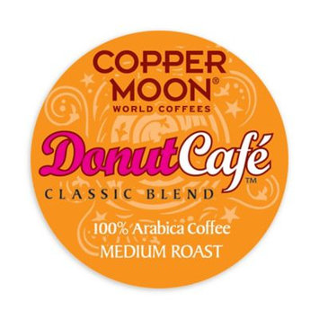 Copper :moon Copper Moon Coffee Aroma-Cups, Donut Cafe, 7.06 Oz, Pack Of 20
