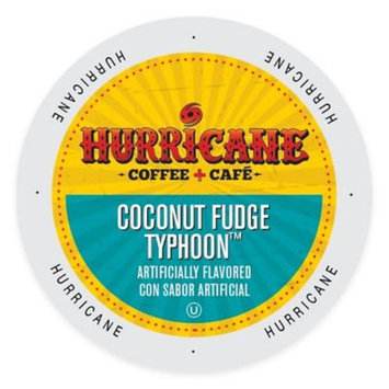 Single Cup Coffee Hurricane Coffee And Tea Coconut Fudge Typhoon, Rainforest Alliance, Single Serve Cup Portion Pack for Keurig K-Cup Brewers