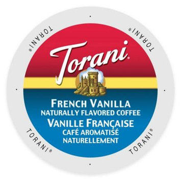 Single Cup Coffee Torani Coffee French Vanilla Single-serve Cup Portion Pack