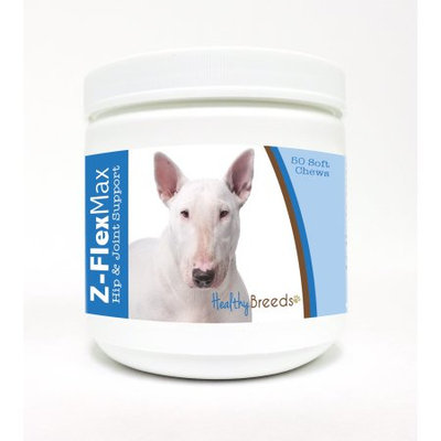 Healthy Breeds Pet Supplements Bull Terrier Z-Flex Max Hip and Joint Soft Chews (50-Count)