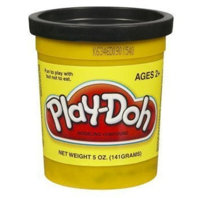 Play Doh Play-Doh PlayDoh Single Can - BLACK 23848