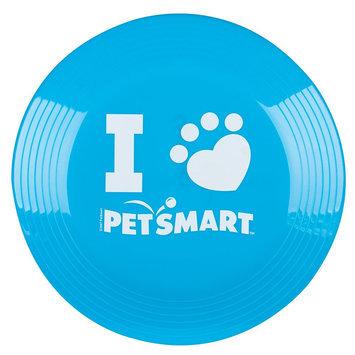 Grreat Choice® PetSmart Logo Flying Disc Dog Toy, Bright Blue