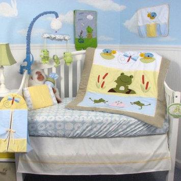 Soho Leap Froggies Baby 14 Piece Crib Nursery Bedding Set