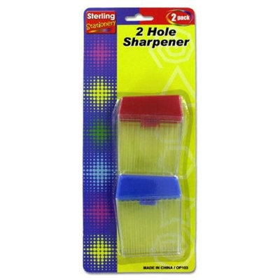 Sterling Two-hole sharpener set - Case of 96
