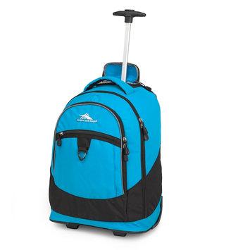 High Sierra - Chaser Wheeled Backpack (Pool/Black) Backpack Bags