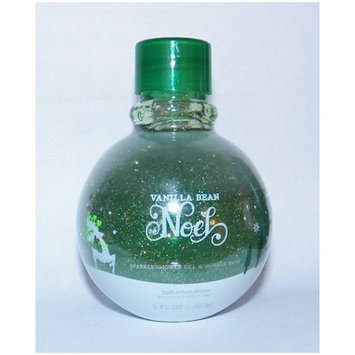 Signature Collection Sparkle Shower Gel & Bubble Bath Vanilla Bean Noel 5 FL OZ