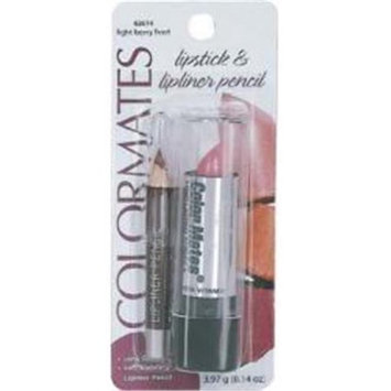 Bulk Buys DDI 1185894 Lipstick with Lipliner Lt. Berry Case Of 8