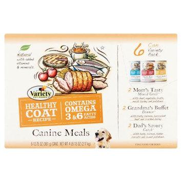 Shreeram Overseas Homestyle Recipes Variety Pack 6 Mom's Tasty Mixed Grill 6 Grandma's Buffet Dinner 6 Dad's Savory Catch 12.75 Oz.