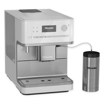 Miele Lotus White OneTouch Countertop Coffee System