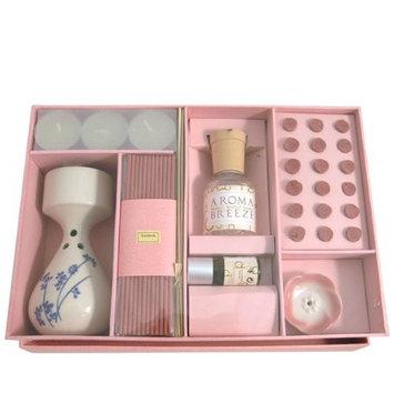 Serenity Aromatherapy Incense & Oil Set - Gardenia