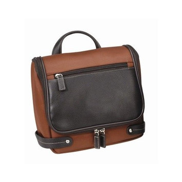 The Angeleno Toiletry Bag Color: Rust