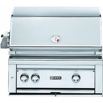 Lynx L30PSR2LP Professional Grill 30 Stainless Steel Built-In Liquid Propane Grill
