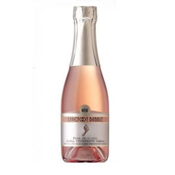 Barefoot Bubbly Pink Moscato 187