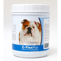 Healthy Breeds Pet Supplements Bulldog Z-Flex Max Hip and Joint Soft Chews (170-Count)