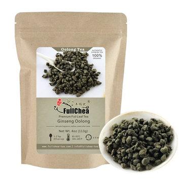 FullChea Ginseng Oolong Tea Loose Leaf, Organic Naturally Processed Lan Gui Ren, Unique Taste and Aroma Ren Shen Tea bulk 4oz / 113g