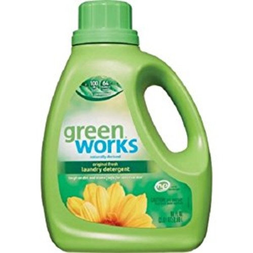 Green Works Laundry Detergent, Original Fresh, 90 Ounces