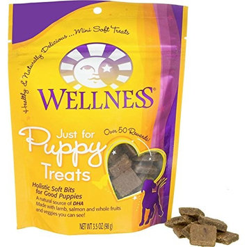 Wellness Natural Grain Free Puppy Training Treats [Crunchy Chicken & Carrots]