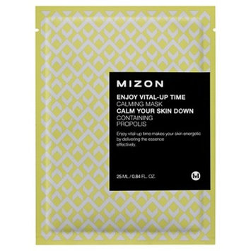 Mizon Enjoy Vital-Up Time - Calming Mask - 0.84 oz