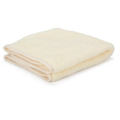 Simmons Kids ND10501-124 Safe and Cuddly Micro Fleece Blanket - White - Pack of 6