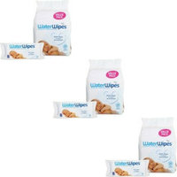 WaterWipes Baby Wipes, 4 Packs of 60 (240 count) - 3 Packs