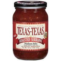Texas - Texas Texas-Texas Roasted Restaurant Style Salsa, Medium 16 oz