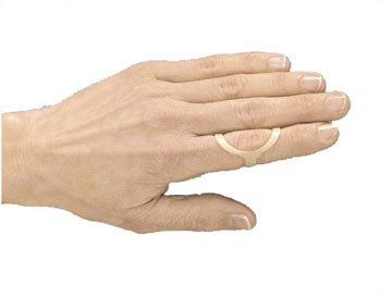 3 Point Products 3pp Oval-8 Finger Splint-3
