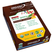 Organic Fb Chocolate Covered Active Greens Protein