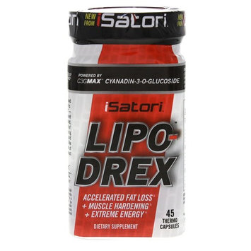 ISATORI LIPO-DREX FAT LOSS + MUSCLE HARDENING + EXTREME ENERGY 45 COUNT