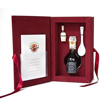 Balsamic vinegar gift set. Aceto balsamico tradizionale of Modena. Aged 12 years. DOP certified from Villa Ronzan. On Sale Now.