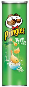 Pringles Sour Cream & Onion Chips 5.5 oz (Count Of 14)