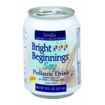 Bright Beginnings Soy Pediatric Drink 8 fl oz Can -Vanilla Pack: 6