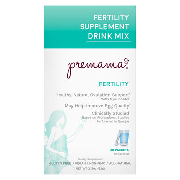 Premama Fertility Unflavored Reproductive Support Drink Mix