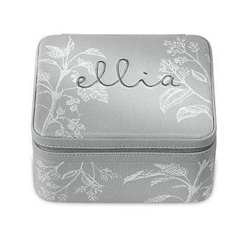 Ellia Fabric Storage Case for Essential Oils | Lightweight Travel Bag, Stores 20 Aromatherapy Bottles | Zipper Carrier for 10 ML, 15 ML, Roll-On Containers, Oil Organizer