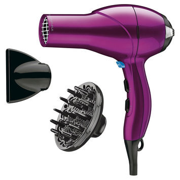 Infiniti Pro by Conair 1875W Salon Performance Hair Dryer, Pink