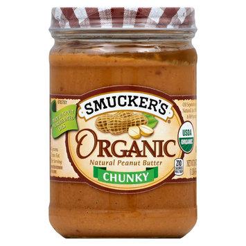 Smucker's Organic Chunky Peanut Butter - 16 Oz