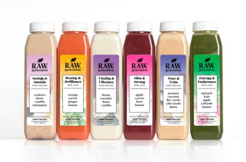 Raw Generation 3-Day Protein Juice Cleanse, 18 pc