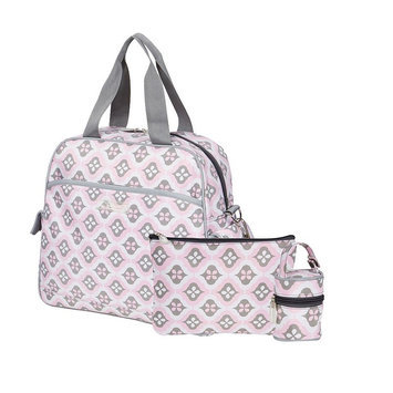 The Bumble Collection Ultimate Brittany Backpack 3-pc. Set (Pink)