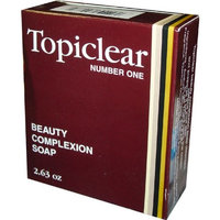 Topiclear Complexion Soap 3.5 oz. (Pack of 2) by Topiclear