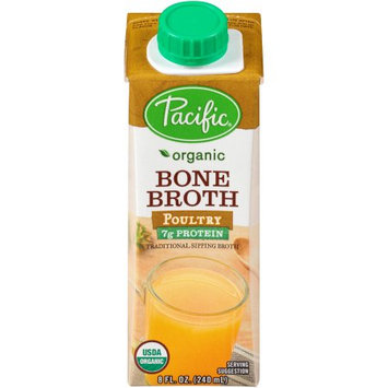 Pacific Foods Organic Bone Broth, Poultry, 8-Ounces